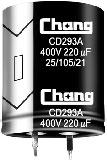 ECAP 68uFх400V CD293A