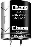 ECAP 68uFх450V CD294