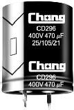 ECAP 680uFх180V CD296