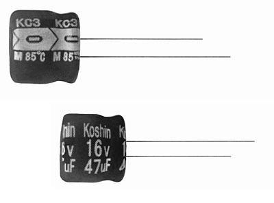 ECAP 22mFх35V KC3