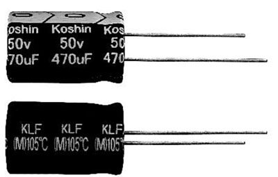 ECAP 68uFх400V KLF