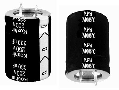 ECAP 68uFх350V KPH