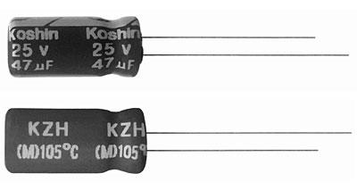 ECAP 6800uFх6.3V KZH