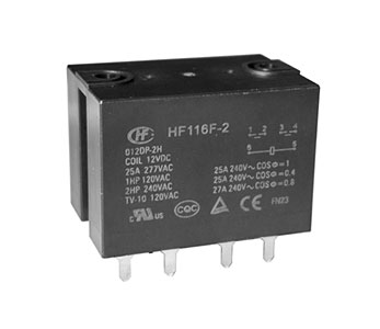 HF116F-2/200DP-1HS